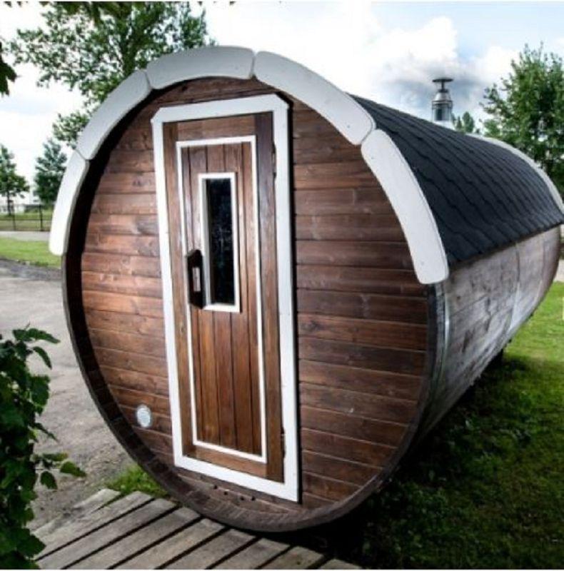 saunafass geschlossener vorraum vom steinfigur. Black Bedroom Furniture Sets. Home Design Ideas