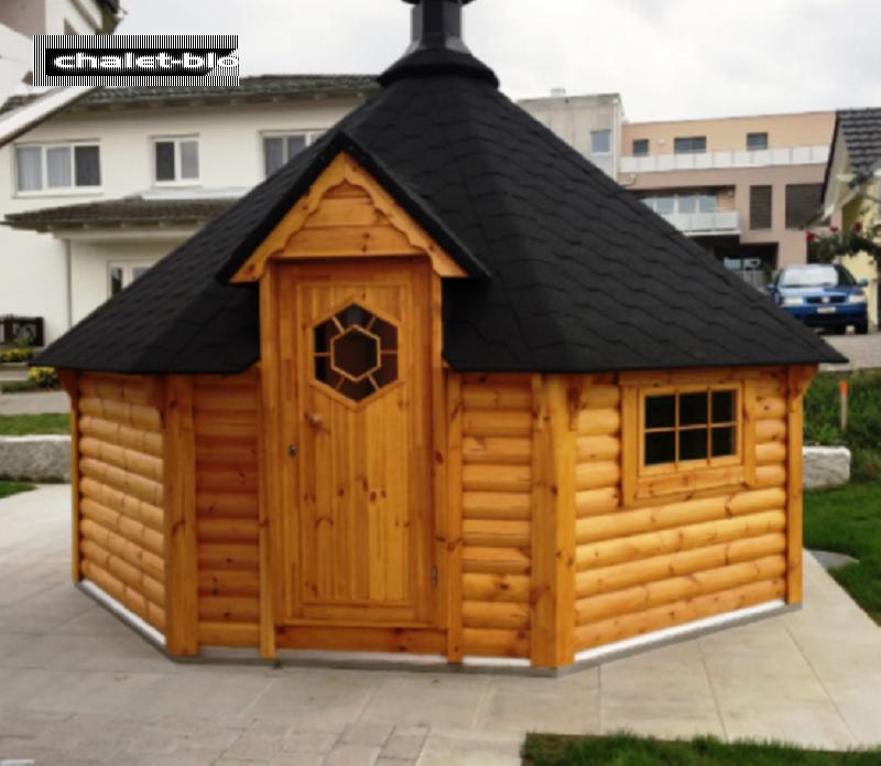 grill und saunakota kombiniert 16 5 qm vom steinfigur und gartenhaus shop. Black Bedroom Furniture Sets. Home Design Ideas