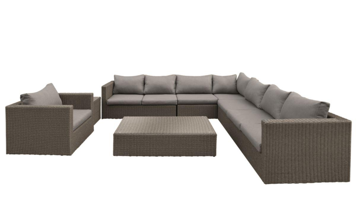 Wicker Lounge-Set Daytona