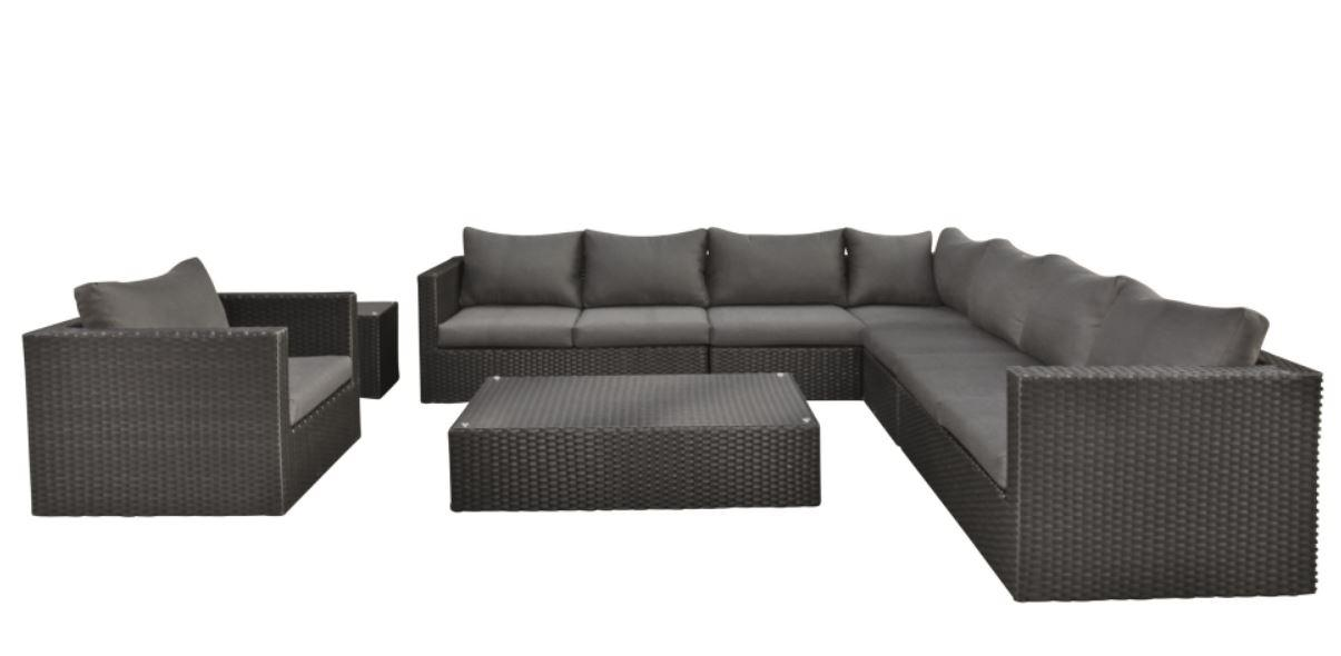 Wicker Lounge-Set Belmont