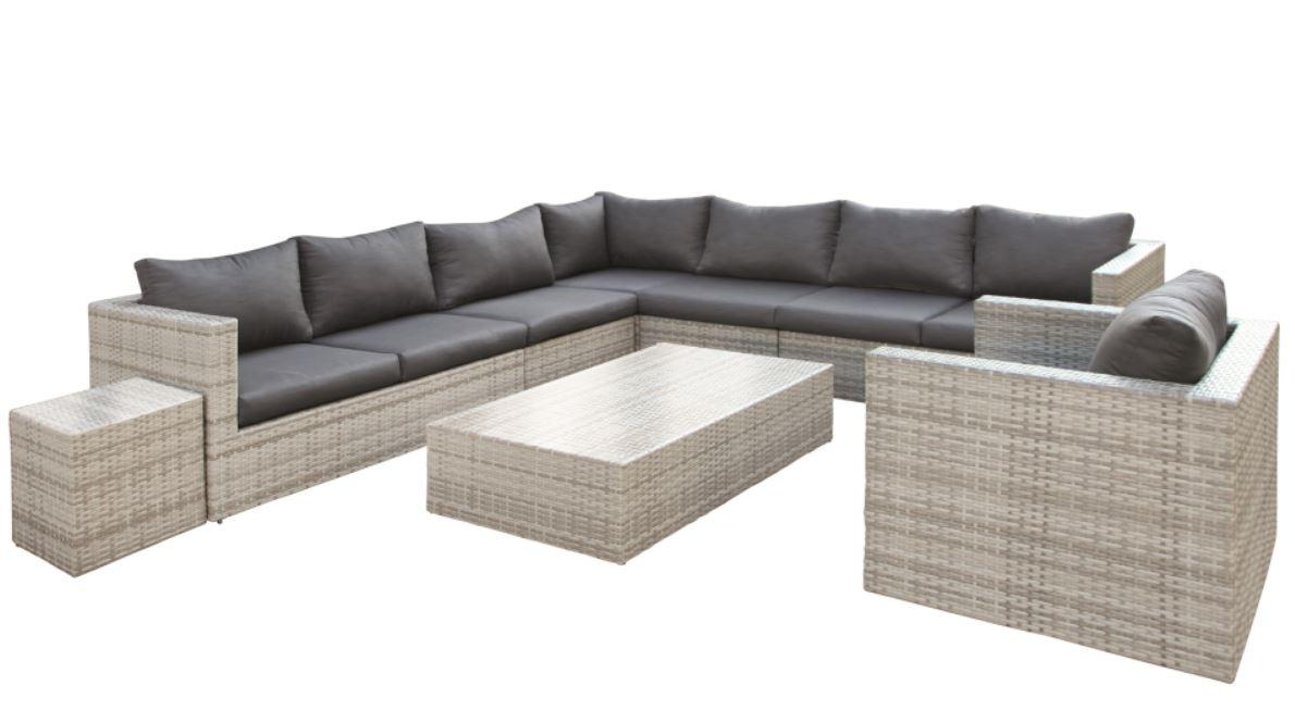 Wicker Lounge-Set Greenwood