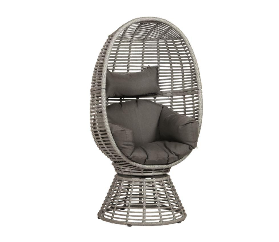 Wicker Cocon Stuhl Atlantis