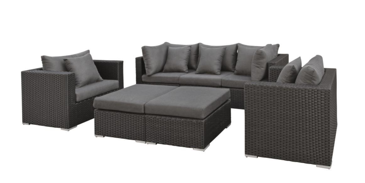 Lounge-set wicker Nashville