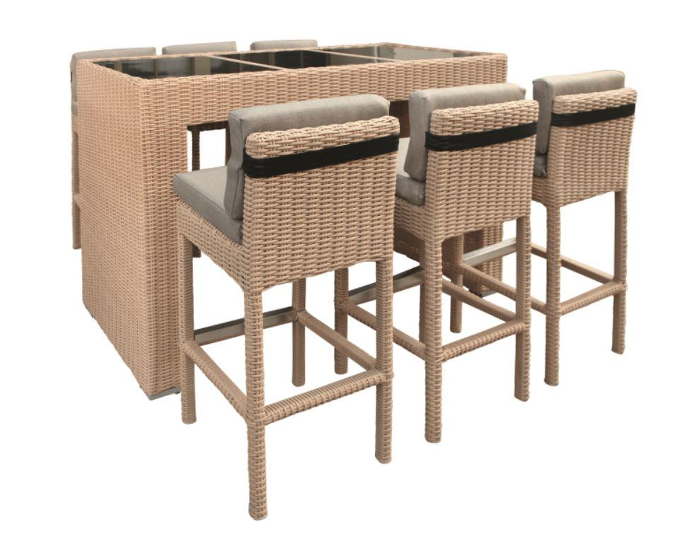 Bar set wicker Lincoln