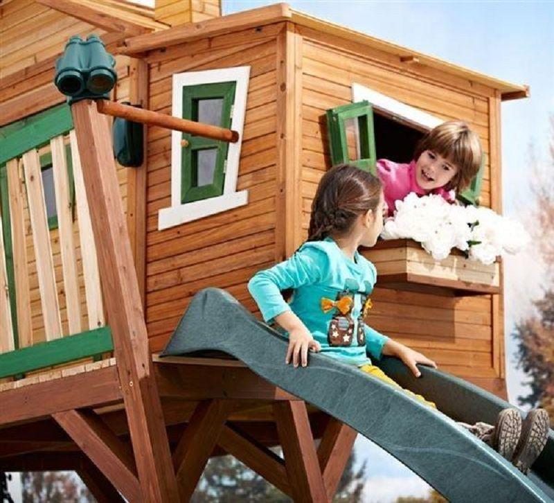 kinderspielhaus max vom steinfigur und gartenhaus shop. Black Bedroom Furniture Sets. Home Design Ideas