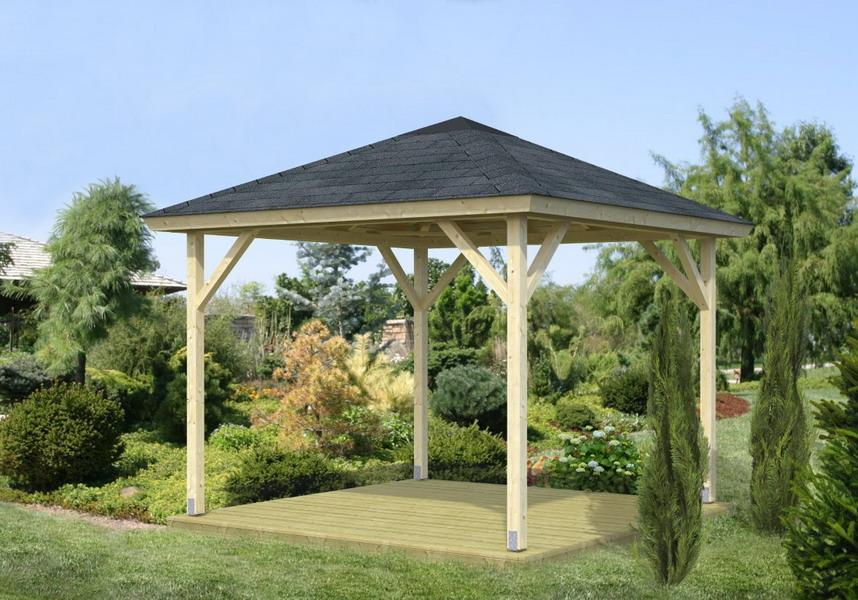 Pavillon Betty 7.8m2   280x280 cm