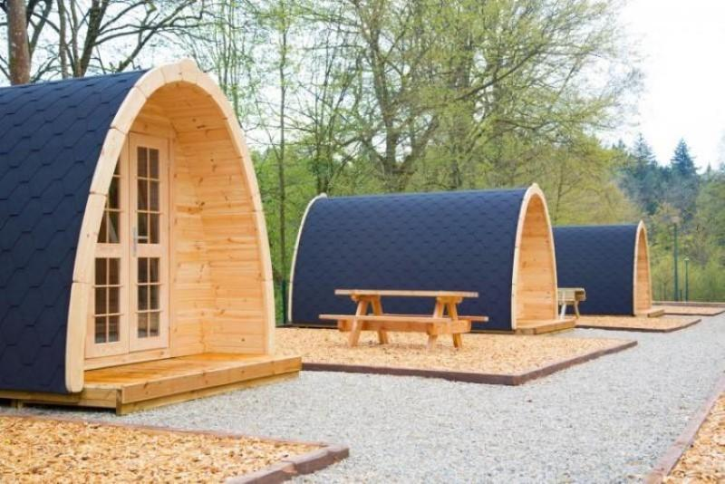 Camping Pod-Deluxe 240cm x 400cm inkl.100mm Isolierung, Campinghaus