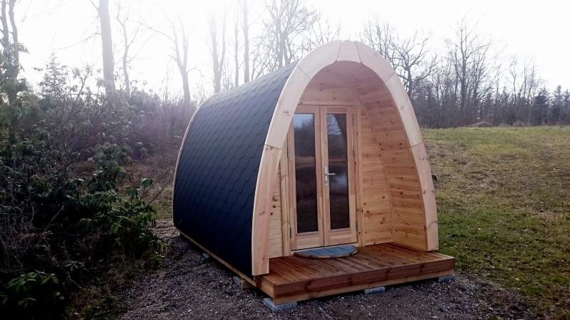 Camping Pod-Deluxe 240cm x 300cm inkl.100mm Isolierung, Campinghaus