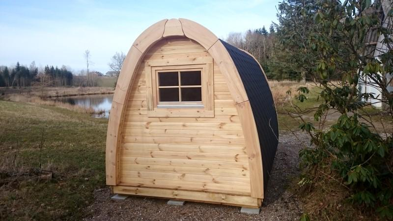 Camping Pod-Deluxe 240cm x 480cm inkl.100mm Isolierung, Campinghaus