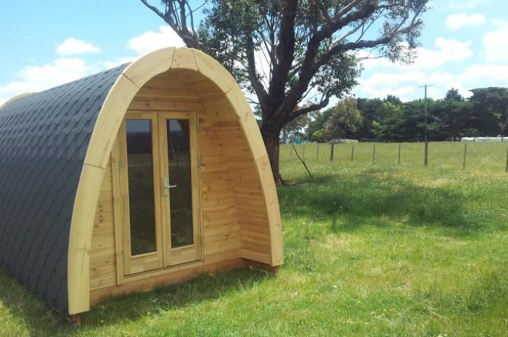 Camping Pod-Deluxe 240cm x 350cm inkl.100mm Isolierung, Campinghaus