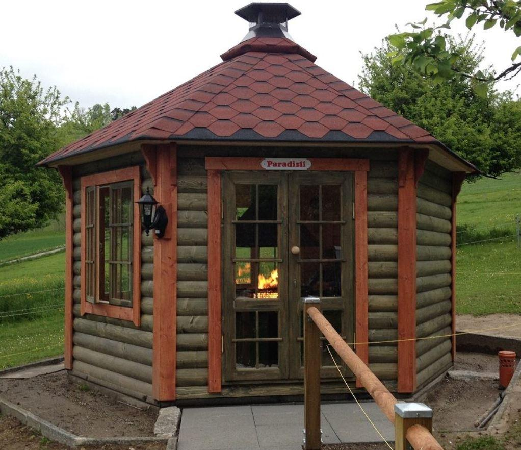 Grillpavillon Modell 14,9
