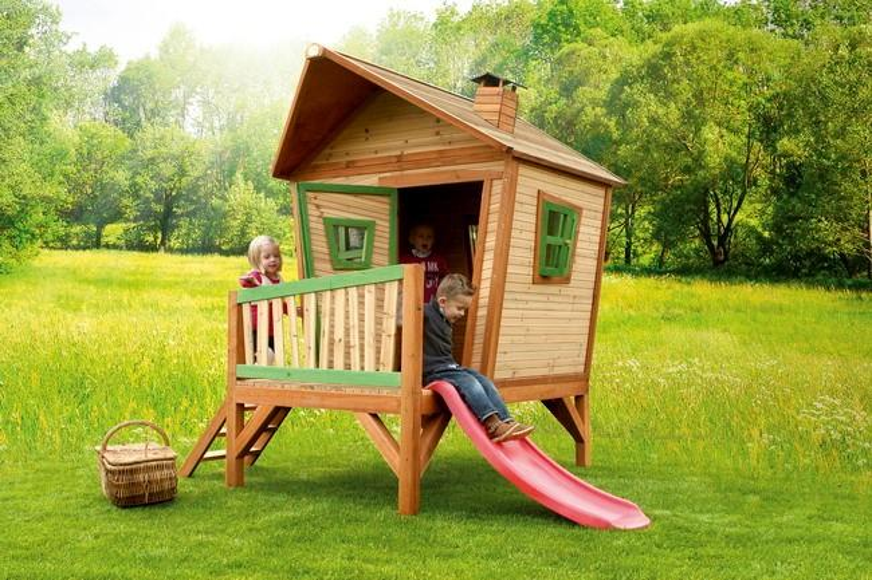 spielhaus iris vom steinfigur und gartenhaus shop. Black Bedroom Furniture Sets. Home Design Ideas
