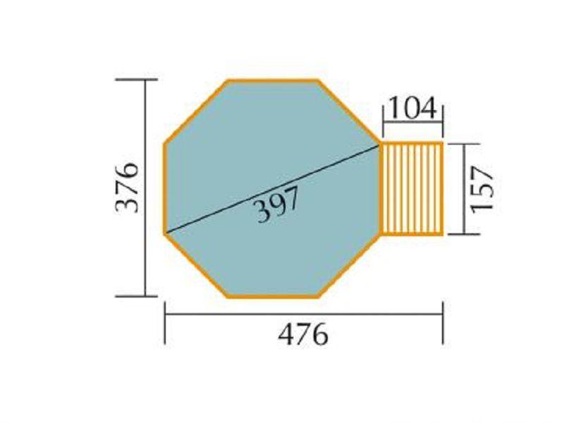 gewebeverst/ärkte Abdeckplane f/ür 593 A und 593 B Gr.1