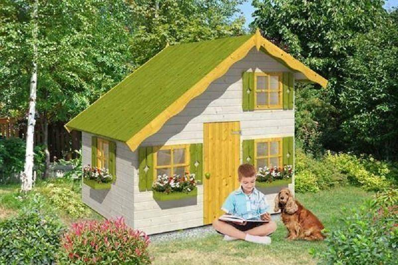 kinder spielh user vom steinfigur und gartenhaus shop. Black Bedroom Furniture Sets. Home Design Ideas
