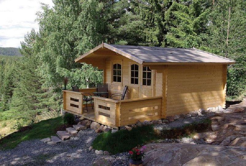 gartenhaus mari b 40mm 380x380cm vom steinfigur und. Black Bedroom Furniture Sets. Home Design Ideas