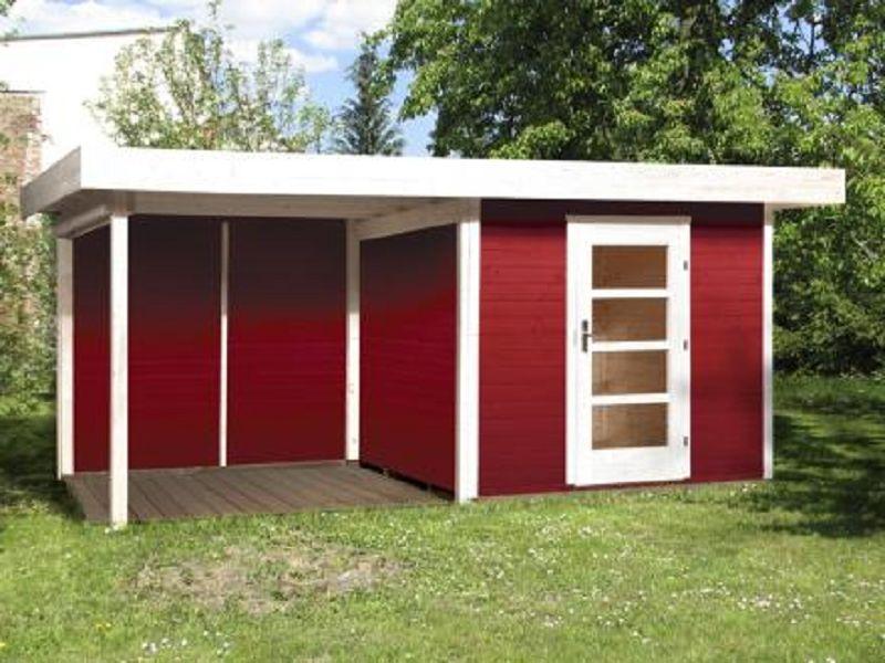 530 x 300cm gartenhaus 172 b gr 2 schwedenrot 28 mm. Black Bedroom Furniture Sets. Home Design Ideas
