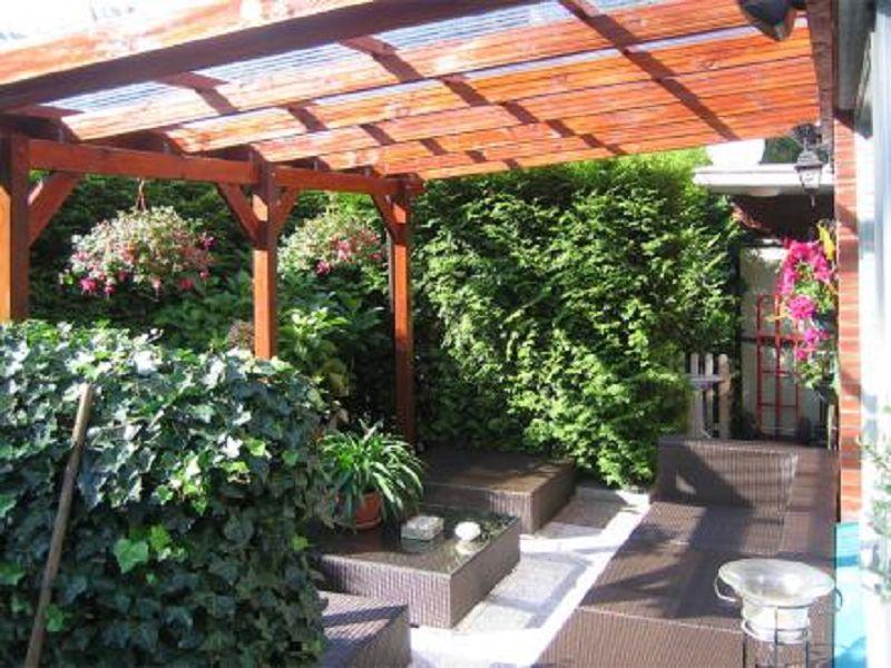 427 x 279cm terrassen berdachung anlehncarport 671 gr 4. Black Bedroom Furniture Sets. Home Design Ideas