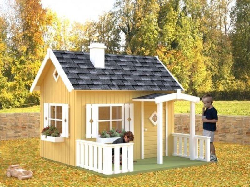Kinderspielhaus Otto Vom Steinfigur Und Gartenhaus Shop
