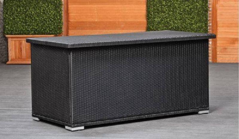 wicker kissenbox arcachon 160cm x 80cm wasserdicht mit innensack vom steinfigur und gartenhaus. Black Bedroom Furniture Sets. Home Design Ideas